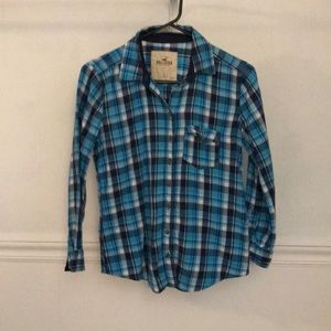 Hollister Long Sleeve Flannel